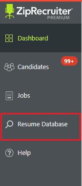 Ziprecruiter Resume Database resume database sliders User Added Image User Added Image Title What Is The Ziprecruiter Resume Database Url Name